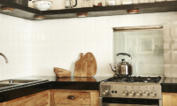 Kitchen with Utensils - The Island Houses - White House- Seminyak, Bali