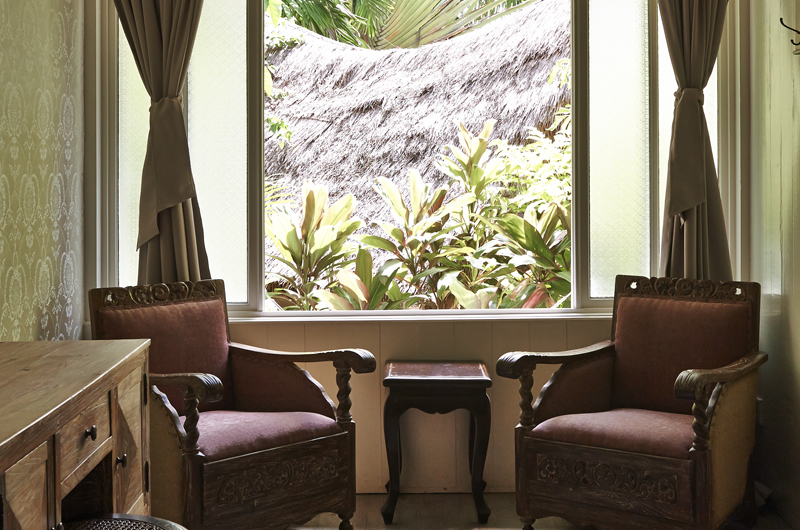 Seating Area - The Island Houses - White House- Seminyak, Bali