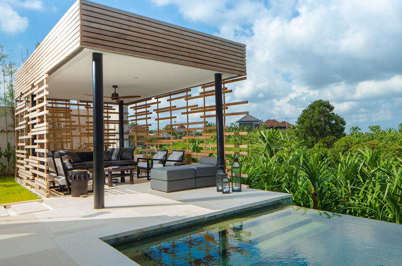Open Plan Lounge Area - The Palm House - Canggu, Bali