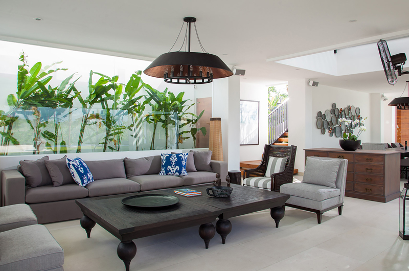 Living Area - The Palm House - Canggu, Bali