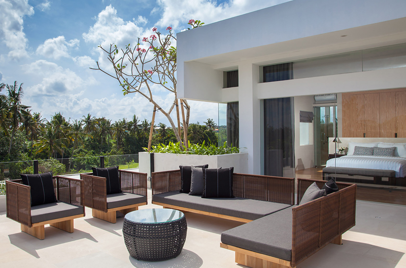 Outdoor Lounge - The Palm House - Canggu, Bali