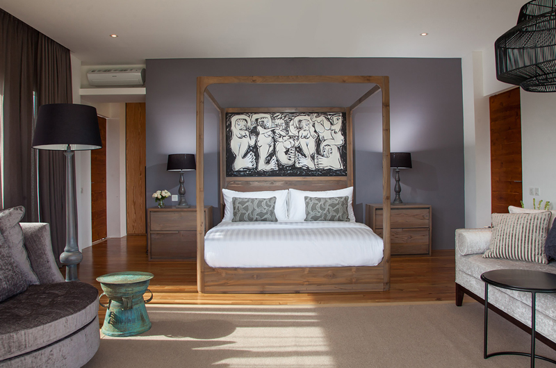Four Poster Bed - The Palm House - Canggu, Bali