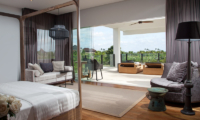 Bedroom and Balcony - The Palm House - Canggu, Bali