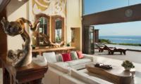 Living Area with Pool View - The Villas At Ayana Resort Bali - Jimbaran, BaliD