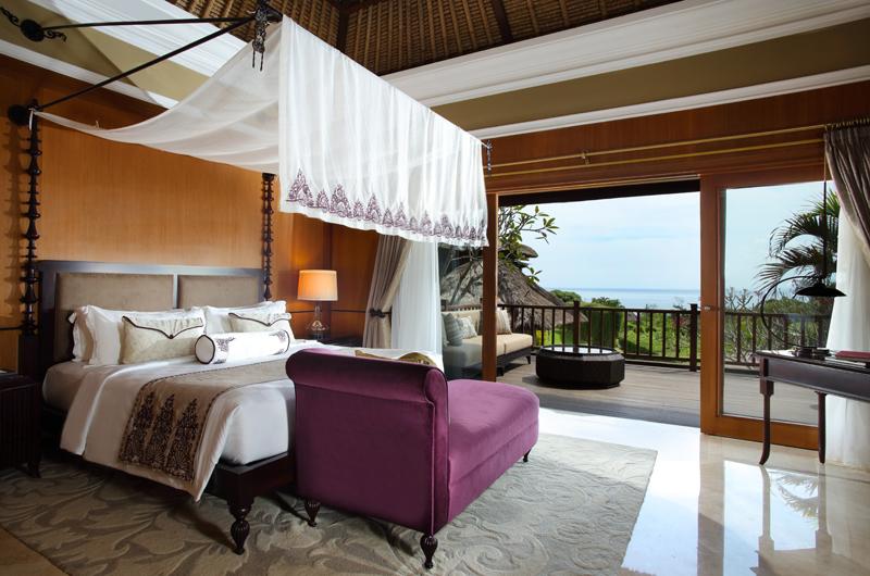 Bedroom and Balcony - The Villas At Ayana Resort Bali - Jimbaran, Bali