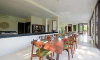 Kitchen and Dining Area - Umah Tenang - Seseh, Bali