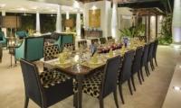 Indoor Dining Area - Uma Wana Prasta - Canggu, Bali