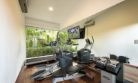 Gym with TV - Villa Alocasia - Canggu, Bali