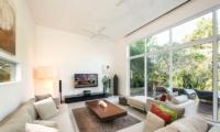 Living Area with TV - Villa Alocasia - Canggu, Bali