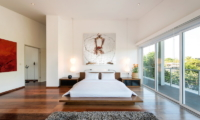 Bedroom and Balcony - Villa Alocasia - Canggu, Bali