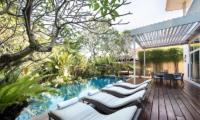 Pool Side - Villa Alocasia - Canggu, Bali