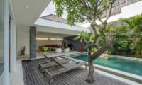 Pool Side Loungers - Villa Anahata - Seminyak, Bali