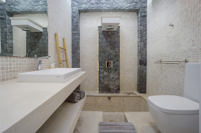 Bathroom with Shower - Villa Anahata - Seminyak, Bali
