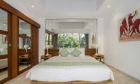 Bedroom with Mirror - Villa Anahata - Seminyak, Bali