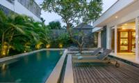 Pool Side - Villa Anahata - Seminyak, Bali