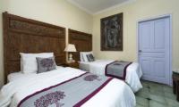 Twin Bedroom - Villa Anyar - Umalas, Bali