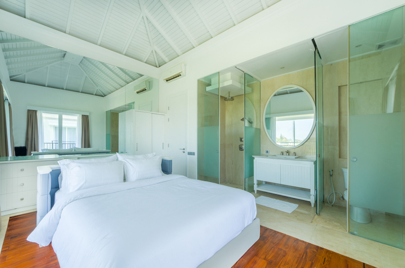 Bedroom and Bathroom - Villa Bianca Canggu - Canggu , Bali