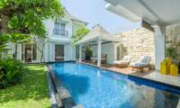 Pool Side - Villa Bianca Canggu - Canggu , Bali