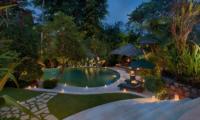 Pool at Night - Villa Bougainvillea - Canggu, Bali