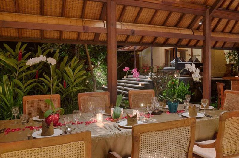 Dining Area - Villa Bougainvillea - Canggu, Bali