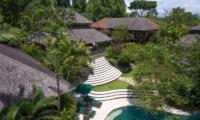 Gardens and Pool - Villa Bougainvillea - Canggu, Bali