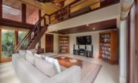 Living Area with TV - Villa Bougainvillea - Canggu, Bali