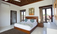 Bedroom with Table Lamps - Villa CassaMia - Jimbaran, Bali