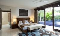 Bedroom with Pool View - Villa CassaMia - Jimbaran, Bali