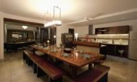 Kitchen and Dining Area - Villa CassaMia - Jimbaran, Bali