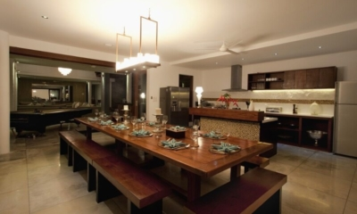 Kitchen and Dining Area - Villa CassaMia - Jimbaran, Bali