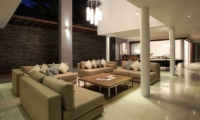 Living Area at Night - Villa CassaMia - Jimbaran, Bali