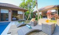 Sun Loungers - Villa Chezami - Legian, Bali