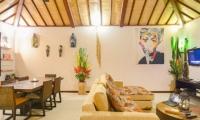 Living and Dining Area - Villa Chezami - Legian, Bali