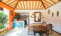 Kitchen and Dining Area - Villa Chezami - Legian, Bali