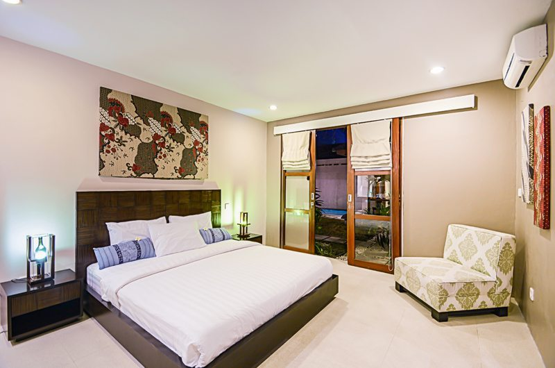 Bedroom with Seating Area - Villa Chezami - Legian, Bali