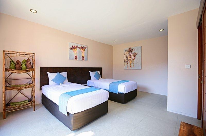 Twin Bedroom - Villa Chezami - Legian, Bali