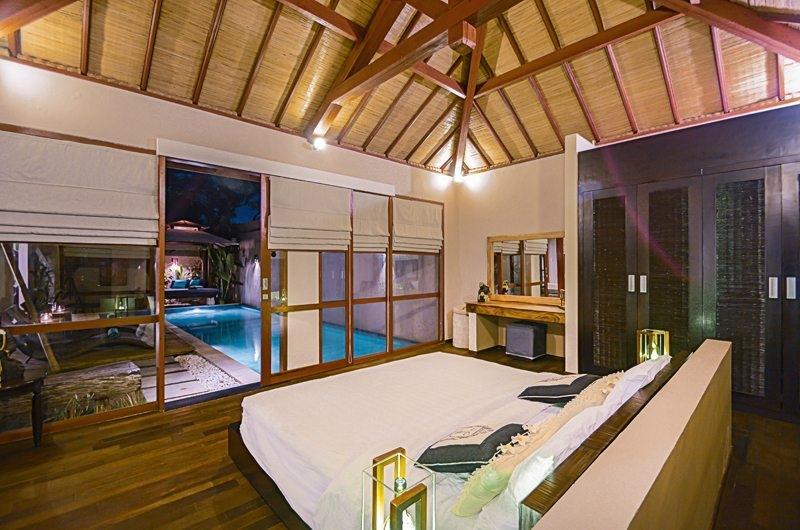 Bedroom with Pool View - Villa Chezami - Legian, Bali