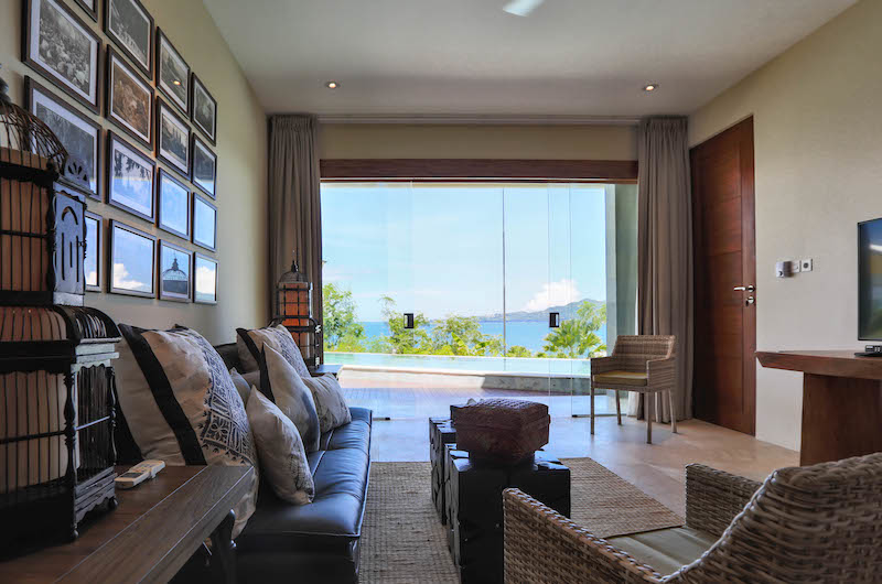 TV Room with Pool View - Villa Gumamela - Candidasa, Bali.jpg