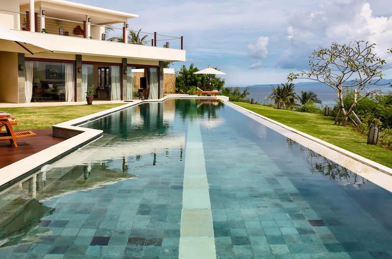Swimming Pool - Villa Gumamela - Candidasa, Bali