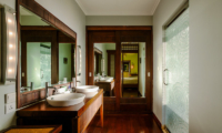 His and Hers Bathroom with Mirror - Villa Impian Manis- Uluwatu, Bali