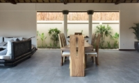 Indoor Dining Area - Villa Lotus Lembongan - Nusa Lembongan, Bali