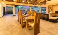 Dining Area - Villa Lotus Lembongan - Nusa Lembongan, Bali