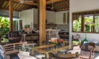 Dining Area - Villa Niri - Seminyak, Bali