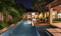 Pool Side - Villa Sepuluh - Legian, Bali