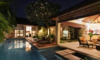 Pool Side Loungers - Villa Sepuluh - Legian, Bali
