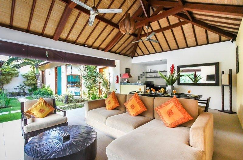 Indoor Living and Dining Area - Villa Sepuluh - Legian, Bali