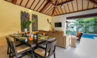 Dining Area - Villa Sepuluh - Legian, Bali