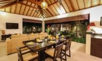 Living and Dining Area - Villa Sepuluh - Legian, Bali