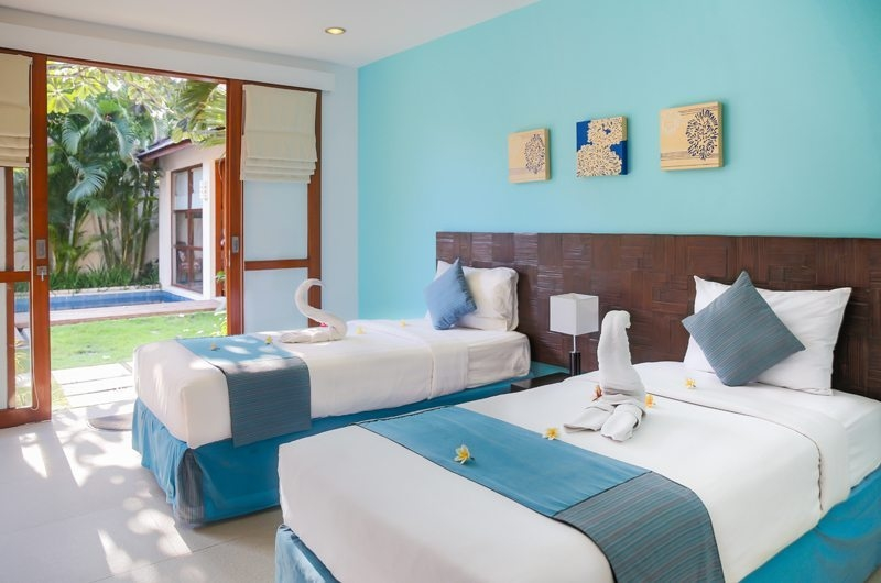 Bedroom with Twin Beds - Villa Sepuluh - Legian, Bali