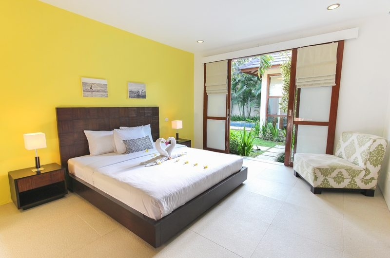 Bedroom with Pool View - Villa Sepuluh - Legian, Bali